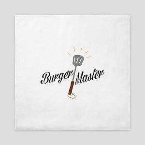 Burger Master Queen Duvet