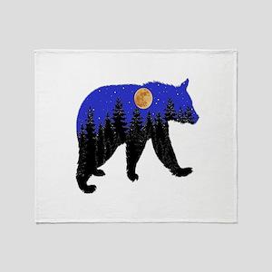 NIGHT Throw Blanket