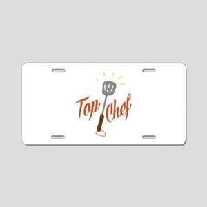 Top Chef Aluminum License Plate
