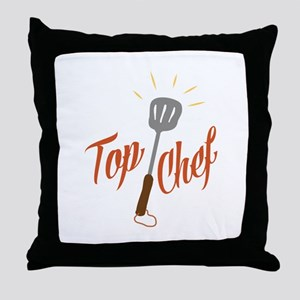 Top Chef Throw Pillow
