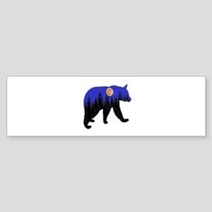 NIGHT Bumper Sticker