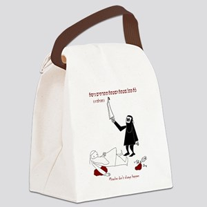 Rabbinic Purim Canvas Lunch Bag