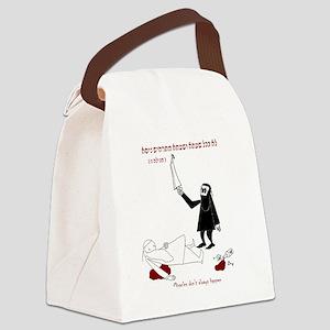 Rabbinic Purim Canvas Lunch Bag