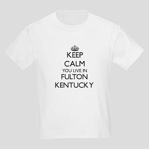 Keep calm you live in Fulton Kentucky T-Shirt
