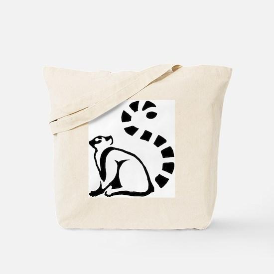 Clean Lemur Tote Bag