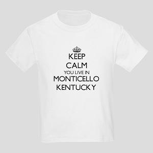Keep calm you live in Monticello Kentucky T-Shirt