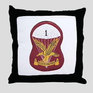 S.A. 1st Para Battalion Throw Pillow