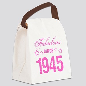 Fabulous Since 1945 Canvas Lunch Bag