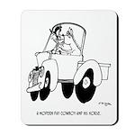 Horse Cartoon 7714 Mousepad
