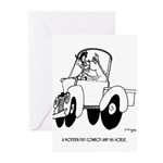 Horse Cartoon 7714 Greeting Cards (Pk of 20)