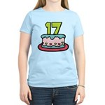 17 Year Old Birthday Cake Women's Light T-Shirt
