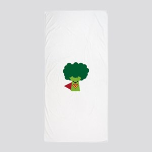 Super Broccoli Beach Towel