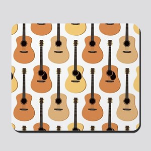 Acoustic Guitars Pattern Mousepad