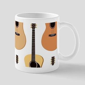 Acoustic Guitars Pattern Mug