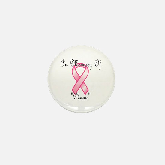 In Memory (pink ribbon) Mini Button