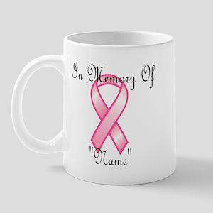 In Memory (pink ribbon) Mug