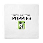 Show me your Puppies Queen Duvet