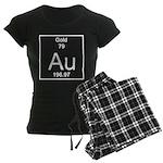 79. Gold Women's Dark Pajamas