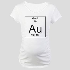 79. Gold Maternity T-Shirt