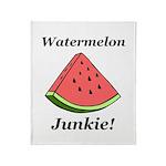 Watermelon Junkie Throw Blanket