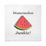 Watermelon Junkie Queen Duvet