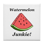 Watermelon Junkie Tile Coaster