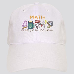 d1e5a379b3c82 Math  It s Not Just For Boys Anymore Cap