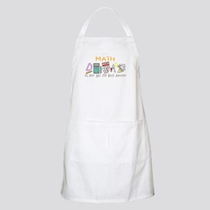 Math: It's Not Just For Boys Anymore BBQ Apron