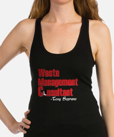 Waste Management Racerback Tank Top