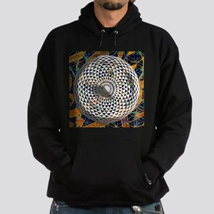 Flower of Life & Geometric Eye Hoodie