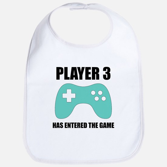 Player 3 Has Entered The Game Baby Bib