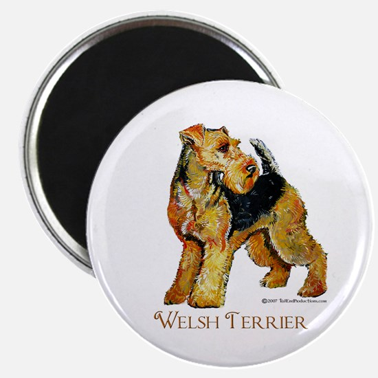 Welsh Terrier Design Magnet