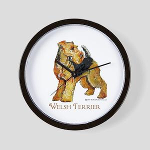 Welsh Terrier Design Wall Clock