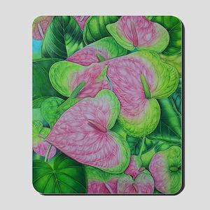 Obake Anthurium Watercolor Mousepad