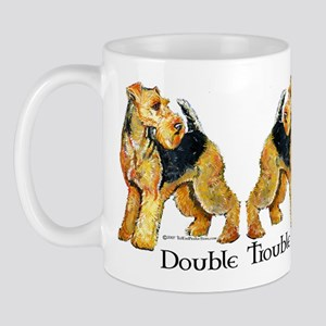 Welshie Double Trouble Mug