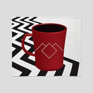 Black Lodge Coffee Throw Blanket