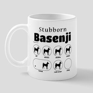 Stubborn Basenji 2 Mug