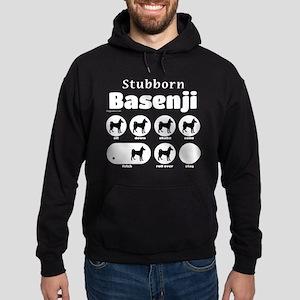 Stubborn Basenji 2 Hoodie (dark)