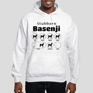 Stubborn Basenji 2 Hooded Sweatshirt