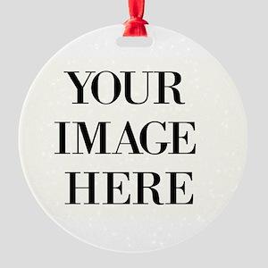 Your Photo Here Design Ornament