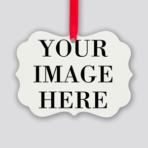 Your Photo Here Design Ornament