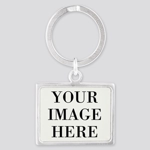 Your Photo Here Design Keychains