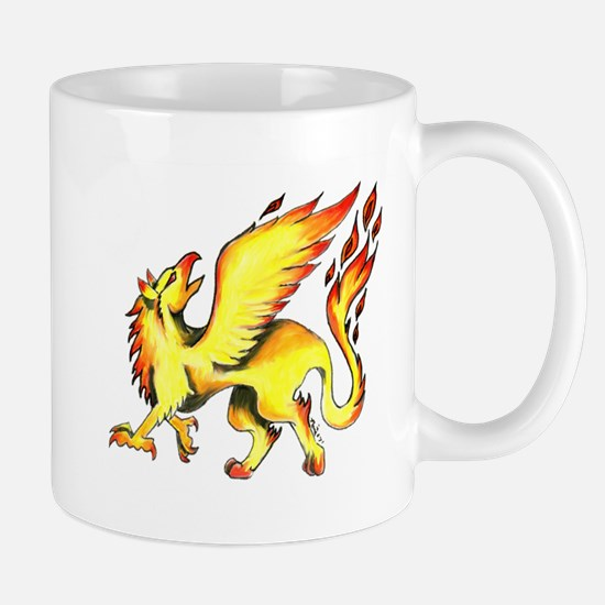 Fire Griffin Mugs