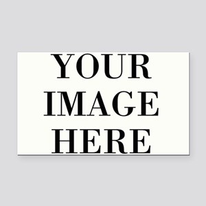 Your Photo Here Design Rectangle Car Magnet