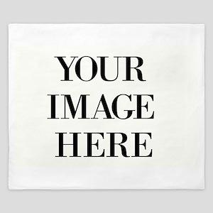 Your Photo Here Design King Duvet