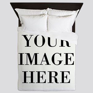 Your Photo Here Design Queen Duvet
