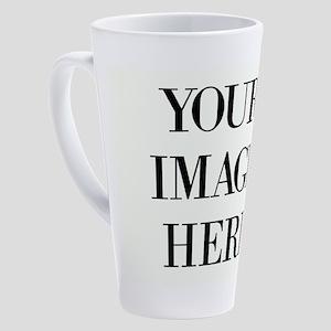Your Photo Here Design 17 oz Latte Mug