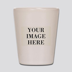 Your Photo Here Design Shot Glass