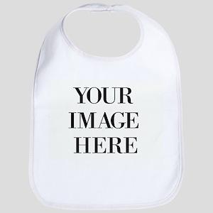 Your Photo Here Design Baby Bib