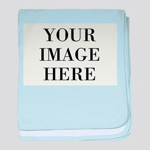 Your Photo Here Design baby blanket